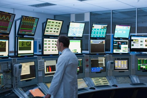 ipari monitor és vezérlőközpont